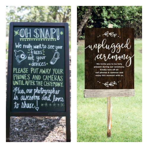 what is an unplugged wedding