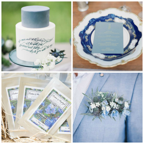 weddings with bluebells