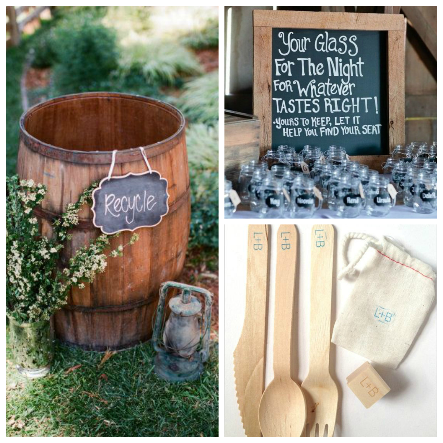 sustainable wedding ideas