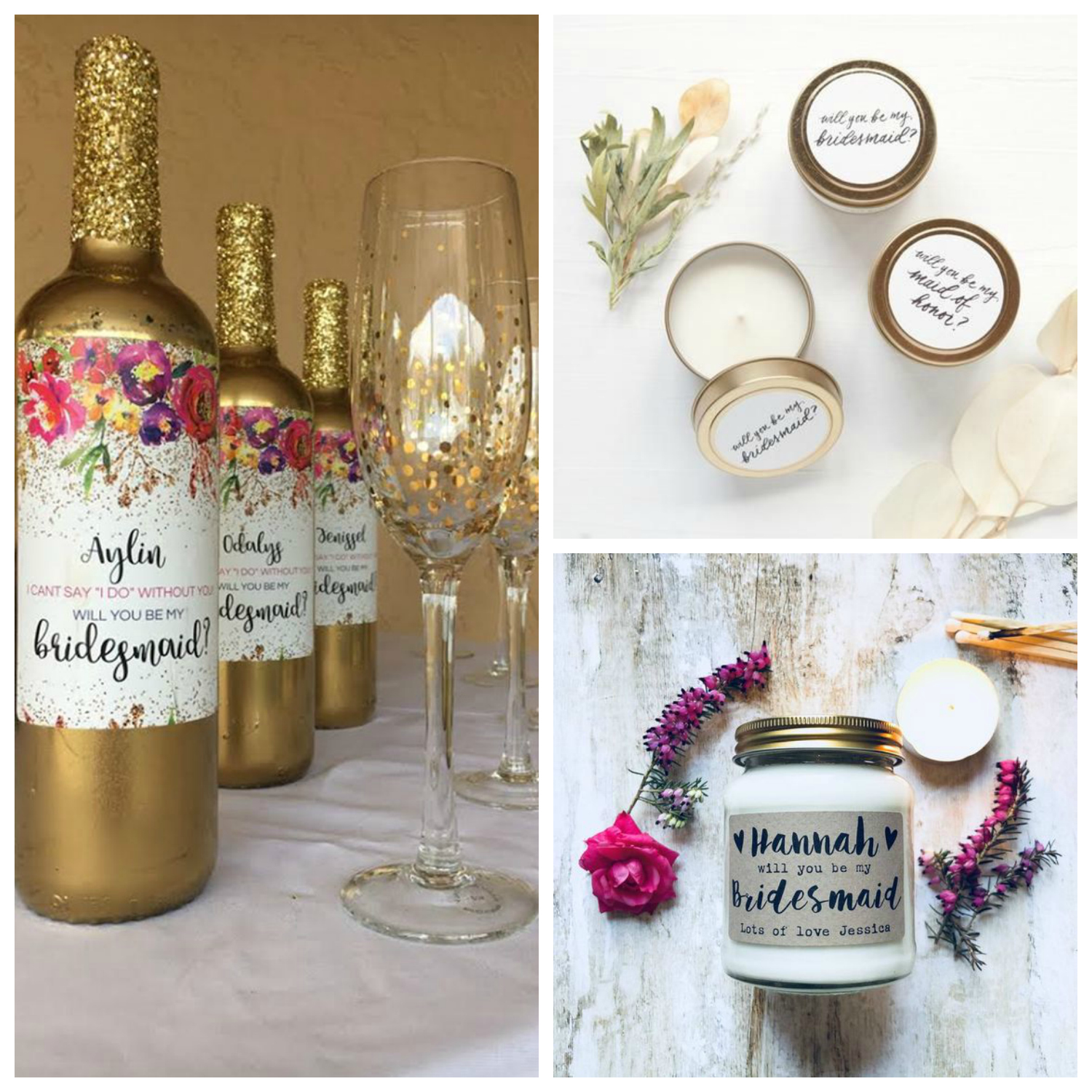 proposal ideas for bridesmaids