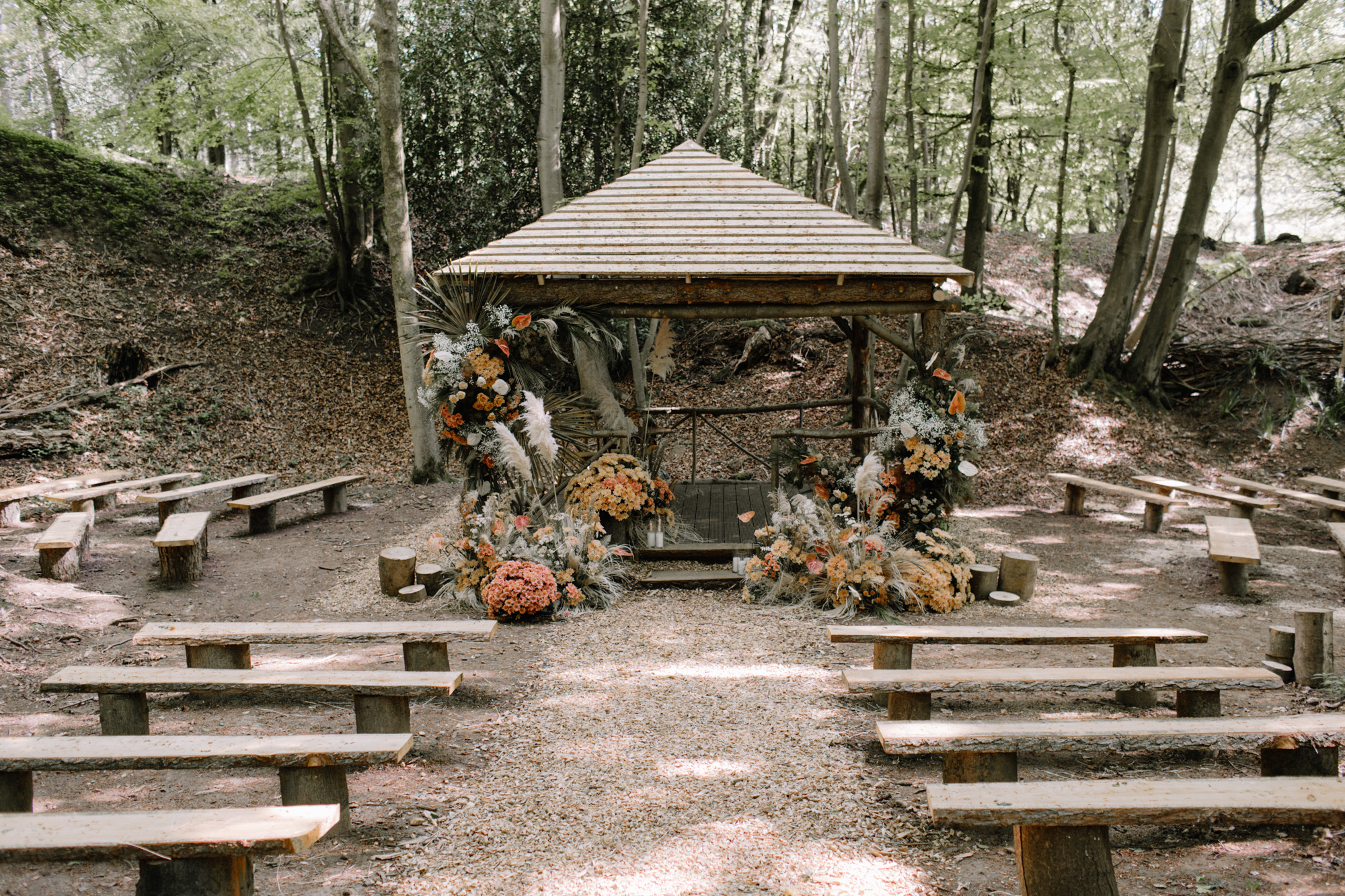 beech dell ceremony shelter