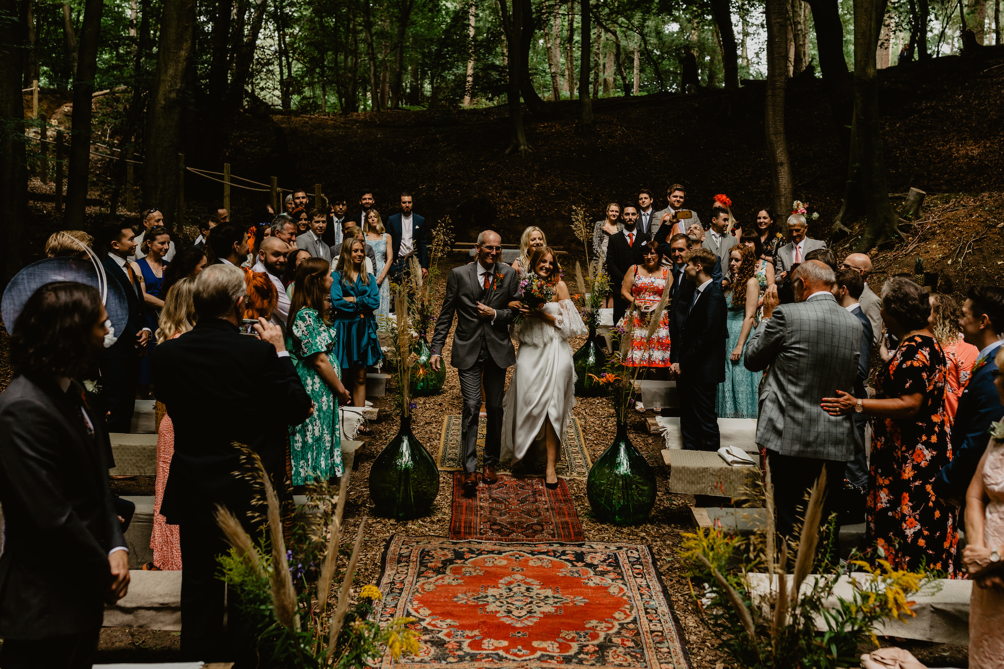 a wedding in beech dell
